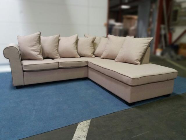A-Ware Polsterecke | Sofa | L-Form | m. Kissen | Überproduktion