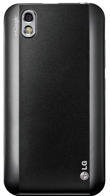 LG P970 Optimus Black Smartphone