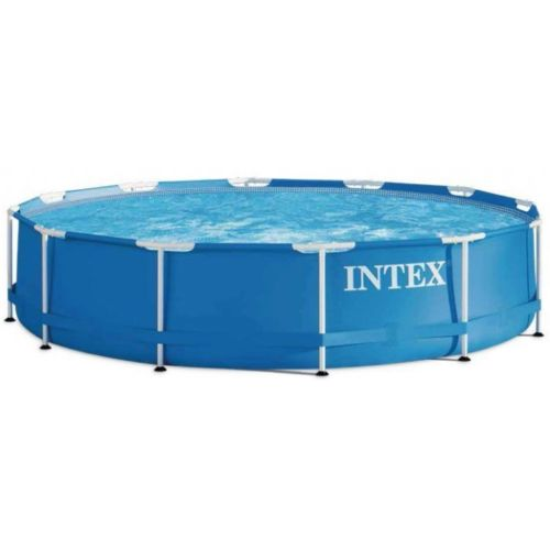 Intex Aufstellpool Frame Pool Set Rondo Swimmingpool blau 366 x 76 cm