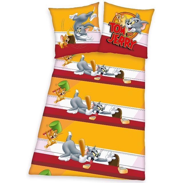 Sonderposten Zum Vergünstigtem Preis 2tlg Tom Und Jerry Microfaser