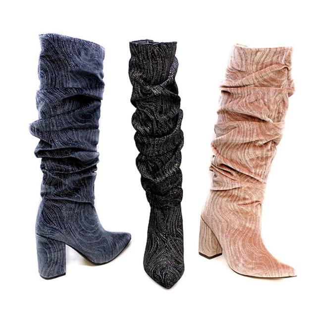Damen Stiefel Boots Schuhe