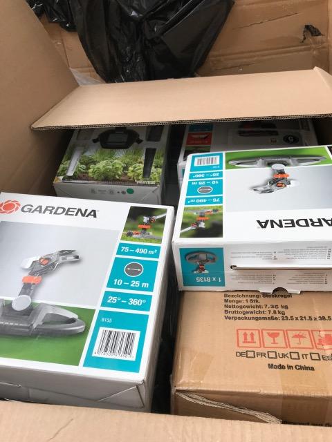 Mixpaletten Markenware Lawn & Garden & Furniture ...LKW Ladung..Full Truckload Retouren