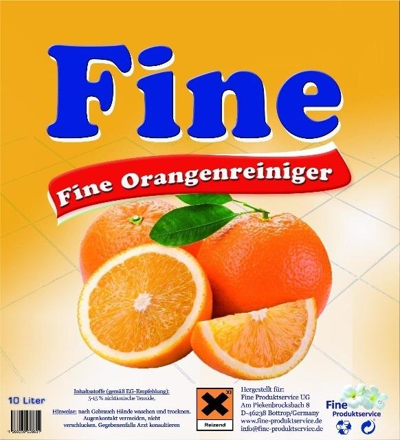 Orangenreiniger, Konzentrat, 10 Liter,Allzweckreiniger, Orangenöl, Fettlöser