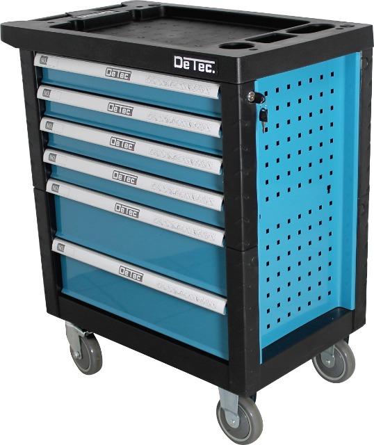 Werkstattwagen Werkzeugwagen bestückt mit Werkzeug - blau