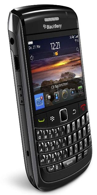 Blackberry Bold 9700/9780/9720 Smartphone (QWERTZ Tastatur, 6.2 cm (2.44 Zoll) Display, HSDPA, WiFi, 3/5MP Kamera)