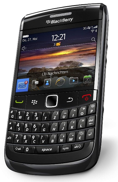 Blackberry Bold 9700/9780/9720 Smartphone (QWERTZ Tastatur, 6.2 cm (2.44 Zoll) Display, HSDPA, WiFi, 3/5MP Kamera)