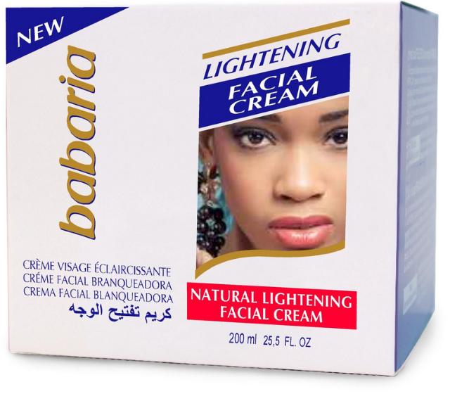 BABARIA - Lightening Gesichtscreme - 125 ml / Babaria Skin Lightening Face Cream 125ml