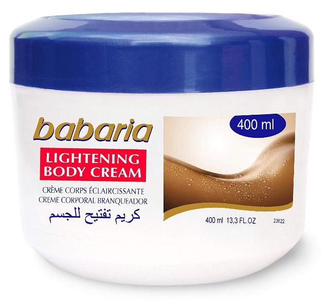 BABARIA - Lightening Körpercreme - 400 ml / Babaria Skin Lightening Body Cream 400ml