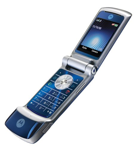Motorola KRZR K1 Unlocked Phone with 2 MP Camera, MP3/Video Player,