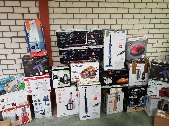 Kleine Elektro Küchengeräten A- und B-Ware (Transport-/ Kartonschade)