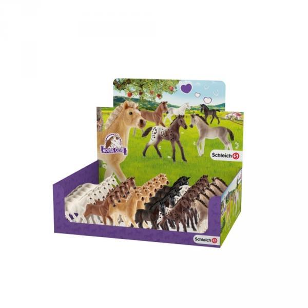 Schleich Horse Club 32 Fohlen, sortiert, 32 Stück im Display