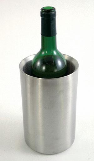 doppelwandiger Wein- und Sektkühler