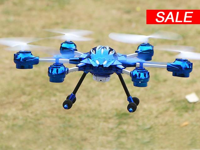 Hexacopter 2,4GHz 609-10C mit Kamera
