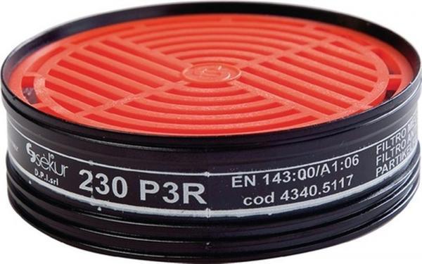2 Stk. Partikelfilter 230 P3RD für Halbmaske Art.Nr.4000370780