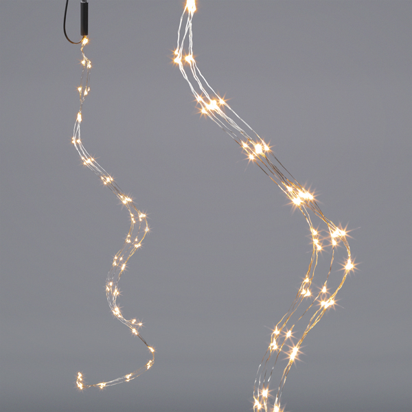 17-42329, LED Hänger Kupferdraht mit 120 LED