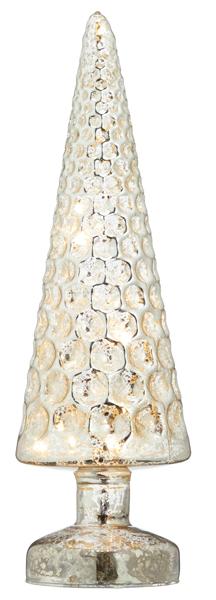 17-43398, Glas LED Baum 26 cm, Weihnachtsbaum