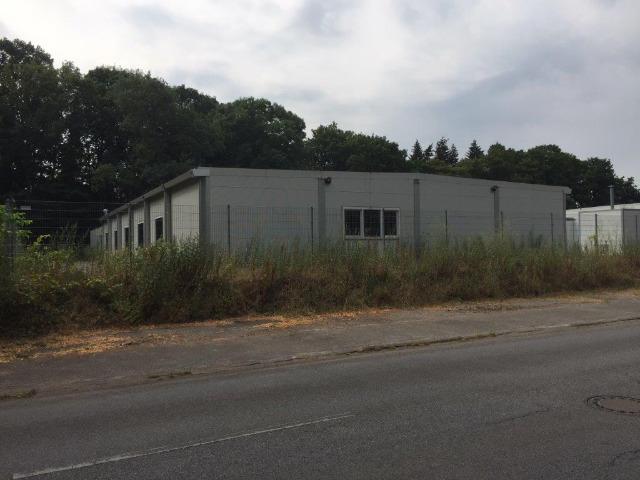 Stahlbauhalle Baujahr 2015