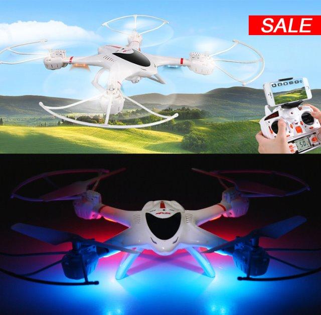 Der neue MJX Quadrocopter 2,4GHz X400