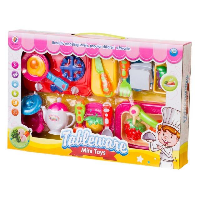 666-39 Küchenset Mini Toys Bunter Algino