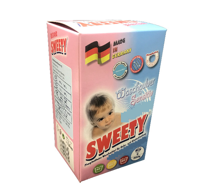 SWEETY Waschpulver Sensitive 500 gr.