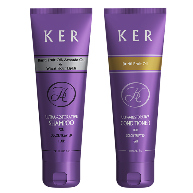 Shampoo & Conditioner - Premium KER Hair Care Line