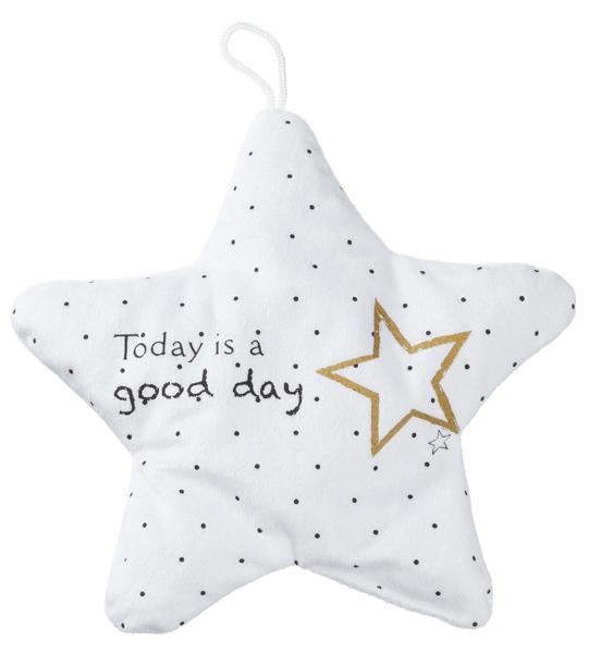 17-63534, Kirschkernkissen, Stern, Today is a good day
