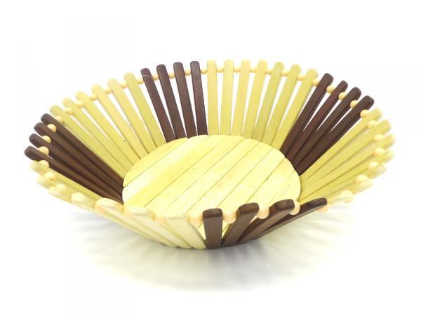 Brotkorb, Obstkorb, Bambuskorb rund, Ø27*10cm