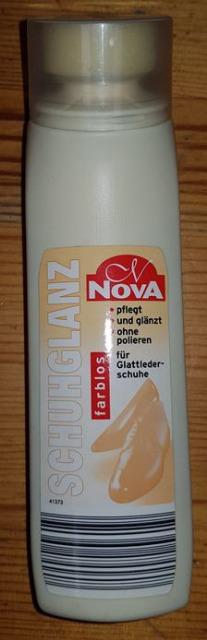Nova Schuhcreme mit integriertem Schwamm farblos