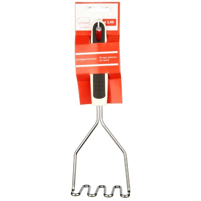 28-021407, Metall Kartoffelstampfer 26 cm, Küchenhelfer,