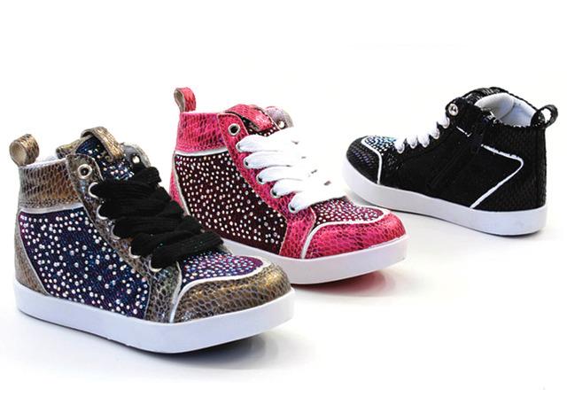 Kinder Mädchen Trend Sneaker Größen 24-35 Schnür und Reißverschluss Schuhe Schuh Shoes Sportschuhe Freizeit Schuh nur 7,25 Euro
