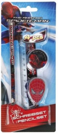 12-235132, Spiderman Schreibset 4-teilig, Amazing
