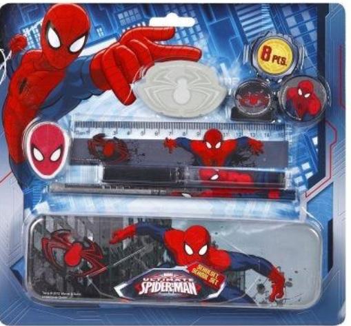 12-6239772, Schulset 8-teilig, Spiderman