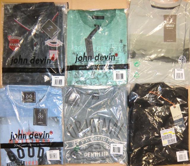 Herren Marken Mix Bekleidung Paket Hemd Shirt Hose...Neu Posten