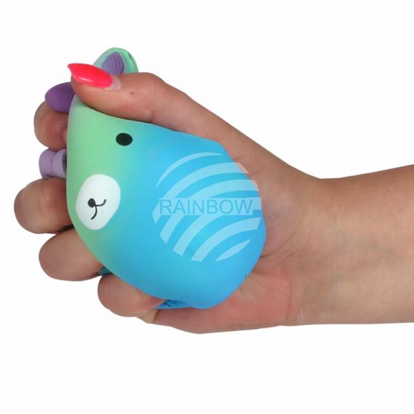 Squishy Squishies Einhornball blau ca. 13 cm