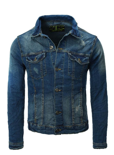 Herren EIGHT2NINE Jeansjacke Marken Jeans Jacke Denim Restposten Herrenmode