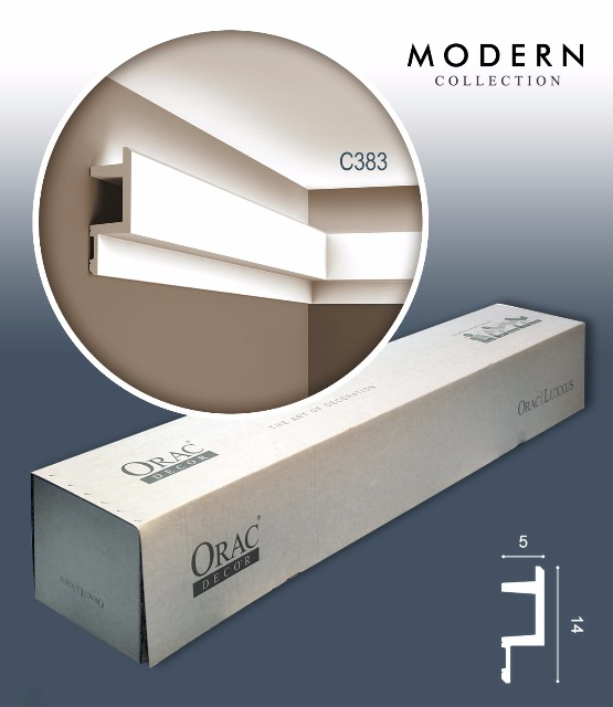 Orac Decor C383 MODERN 1 Karton SET mit 12 Eckleisten Zierleisten | 24 m