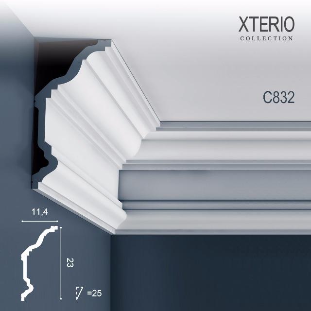 Orac Decor C832 XTERIO 1 Karton SET mit 10 Eckleisten Zierleisten | 20 m
