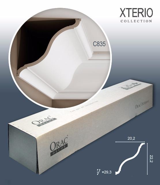 Orac Decor C835 XTERIO 1 Karton SET mit 9 Eckleisten Zierleisten | 18 m