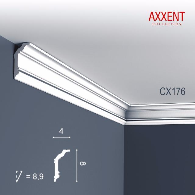 Orac Decor CX176-box 1 Karton SET mit 24 Eckleiste Zierleiste | 48 m