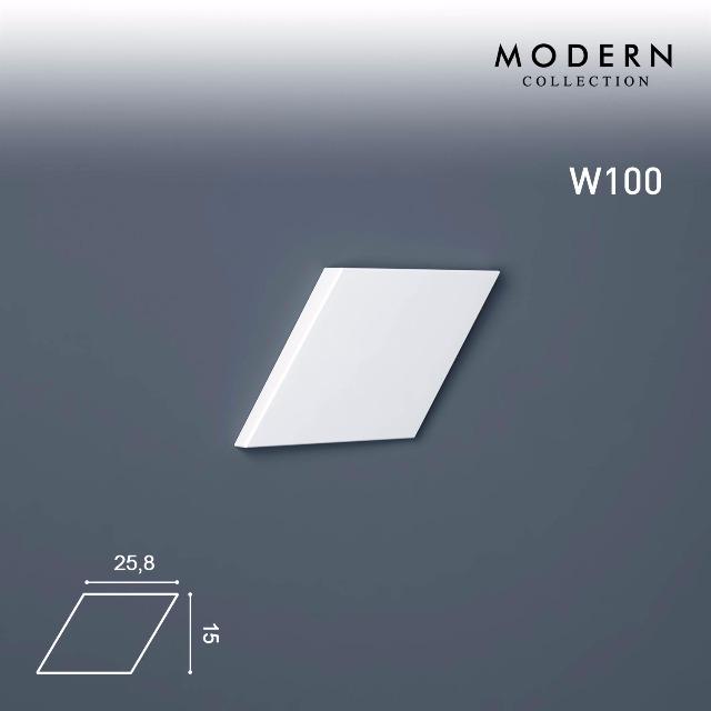 Orac Decor W100 MODERN 1 Karton SET mit 18 Wandpaneelen Zierelementen | 0,7 m2