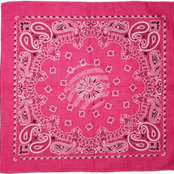 Bandana Halstuch Paisley pink