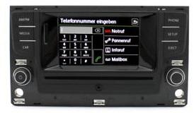 Infotainment Systeme für VW und Audi. NEU original von VAG