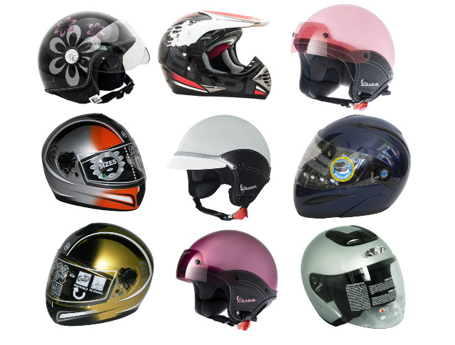 Motorradhelme Motor Motoren Helmroller