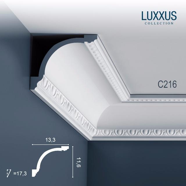 Orac Decor C216 LUXXUS 1 Karton SET mit 12 Eckleisten Stuckleisten   24 m