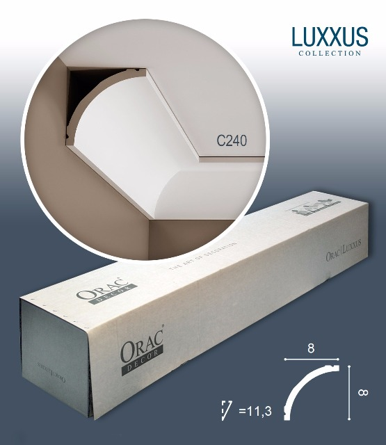Orac Decor C240 LUXXUS 1 Karton SET mit 28 Eckleisten Stuckleisten   56 m