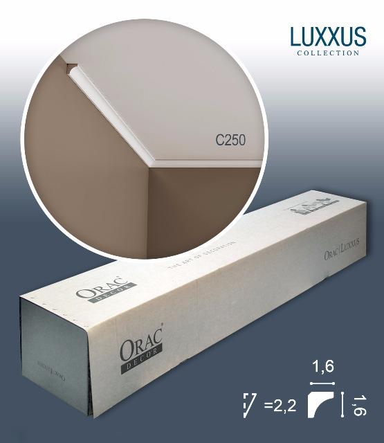 Orac Decor C250 LUXXUS 1 Karton SET mit 55 Eckleisten Stuckleisten | 110 m