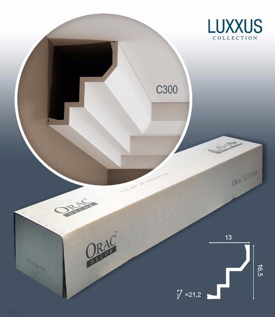 Orac Decor C300 LUXXUS 1 Karton SET mit 10 Stuckleisten | 20 m