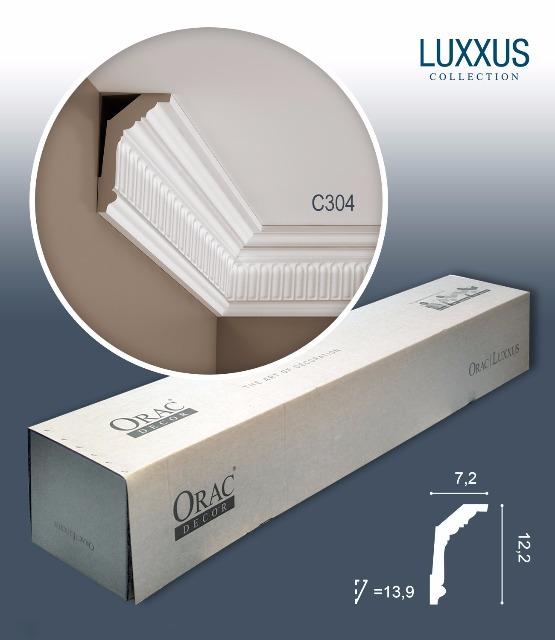 Orac Decor C304 LUXXUS 1 Karton SET mit 16 Stuckleisten | 32 m