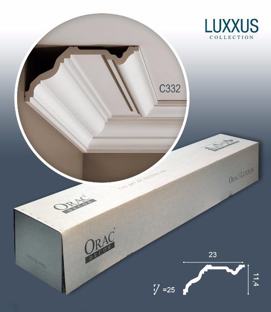 Orac Decor C332 LUXXUS 1 Karton SET mit 10 Stuckleisten   20 m