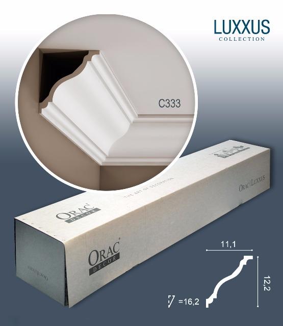 Orac Decor C333 LUXXUS 1 Karton SET mit 18 Stuckleisten   36 m
